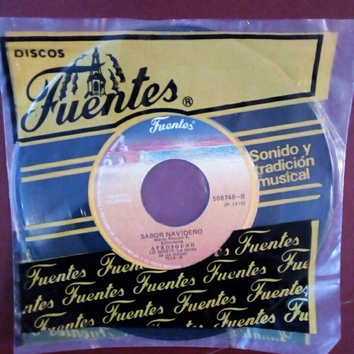 afrosound - ep 45 rpm nuevo! - 1973