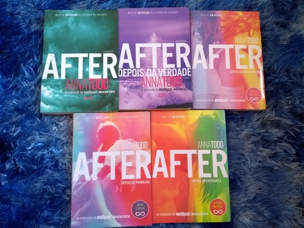 After Colecao Com 5 Livros Anna Todd
