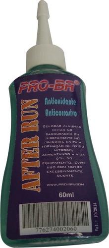 after run pro-br - óleo lubrificante - antioxidante  - 60ml