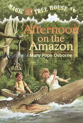 afternoon on the amazon - mary pope osborne - random house