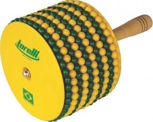 afuxe brasil cabo de madeira e tampa de abs torelli tx015