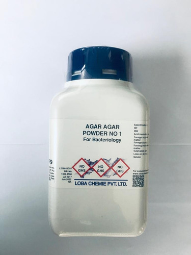 agar agar polvo no.1 purificado 500 g loba chemie 0779