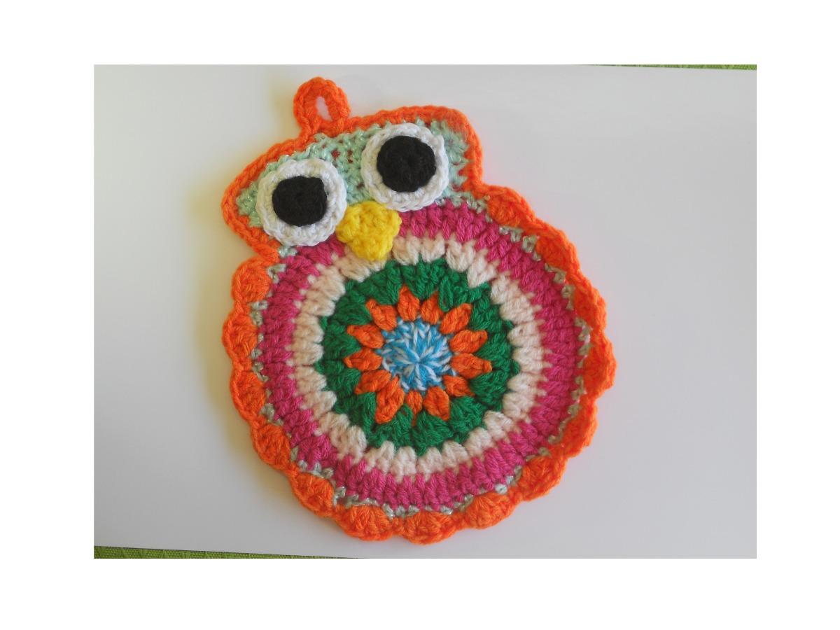 Hermosa Patrón Manta Crochet Búho Libre Foto - Ideas de Patrones de ...