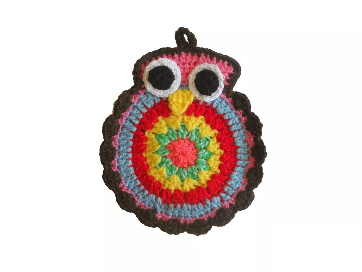 Agarraderas A Crochet Gato Y Buho en Mercado Libre Argentina