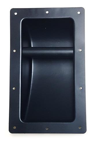 agarradera de cajón corneta 16,1 x 28cm metal
