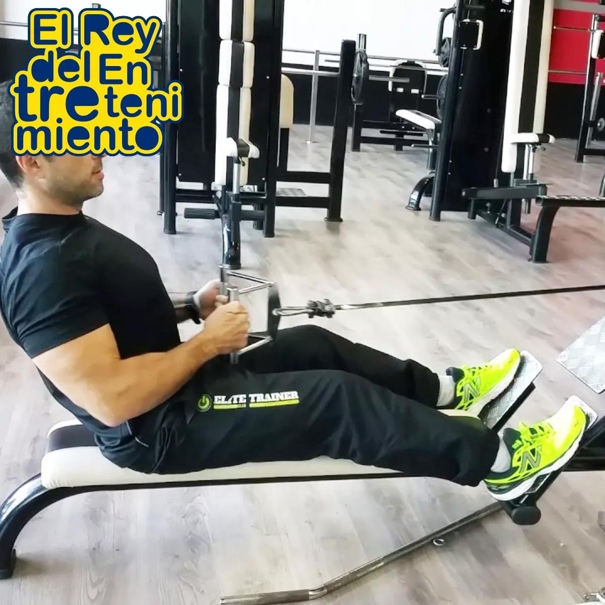 Agarre Casita Polea Metal Doble P/ Triceps Pesas Remo El Rey - $ 990 ...