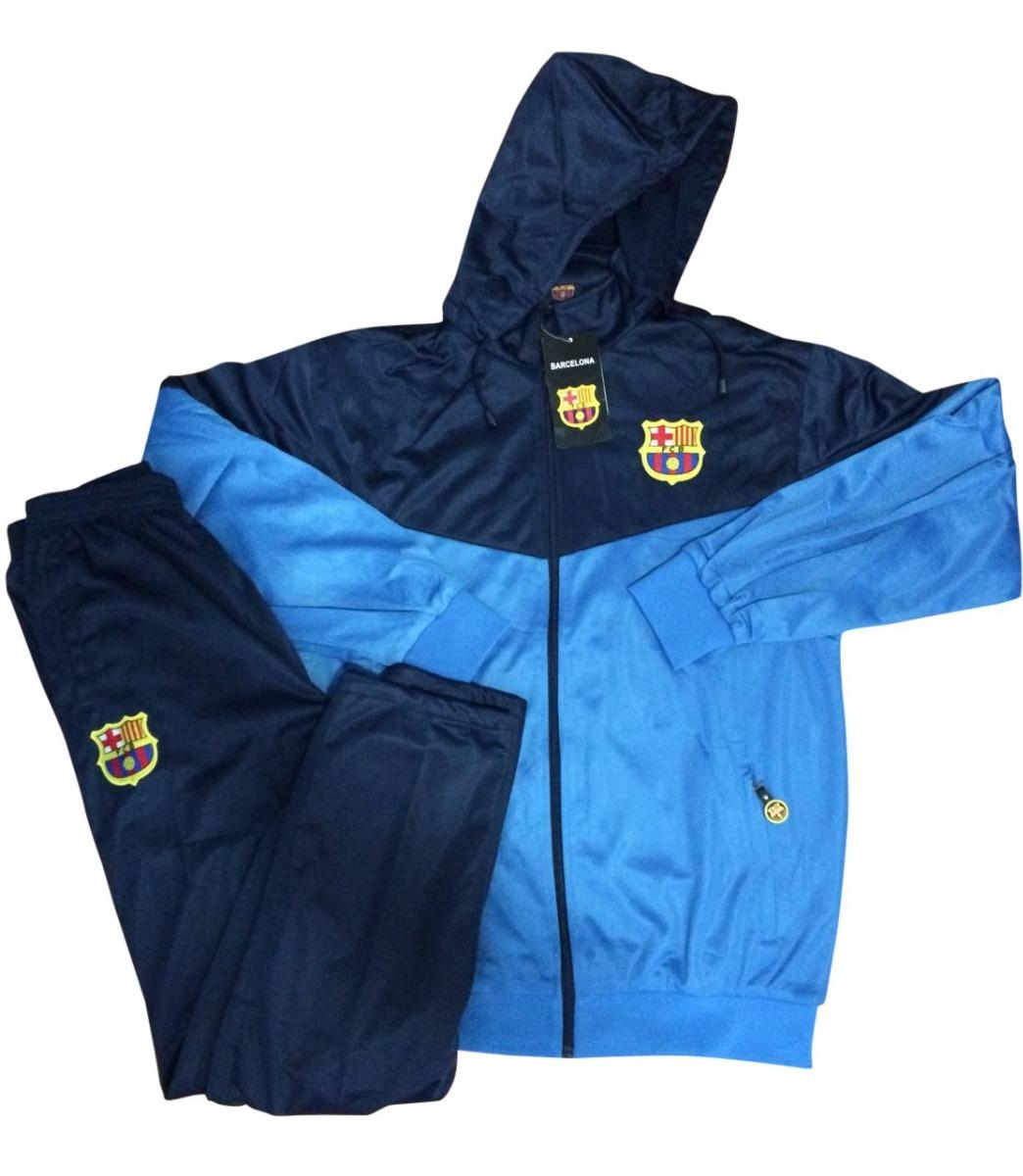 agasalho abrigo calça e blusa time barcelona masculino frio. Carregando  zoom. 261219d549ae3