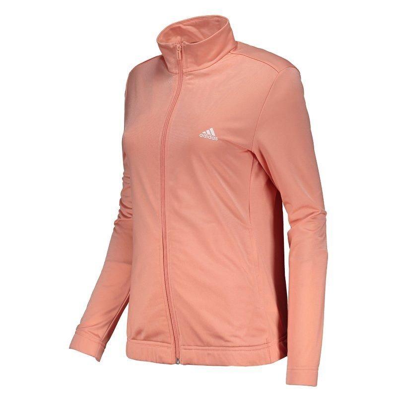 agasalho adidas essentials feminino rosa. Carregando zoom. 80405f9abdd1c