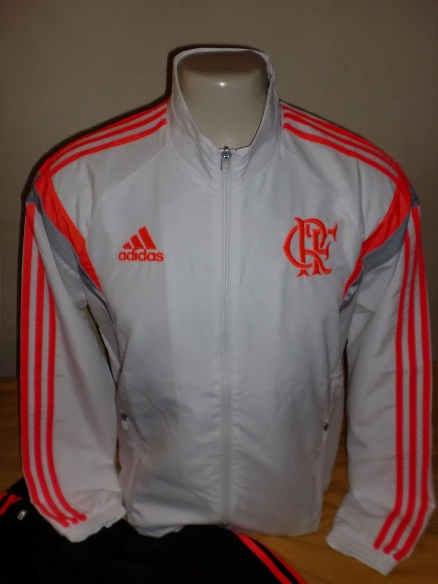 57733c7cb59 Agasalho adidas Flamengo (jaqueta+calça) Tamanho G Novo - R  180