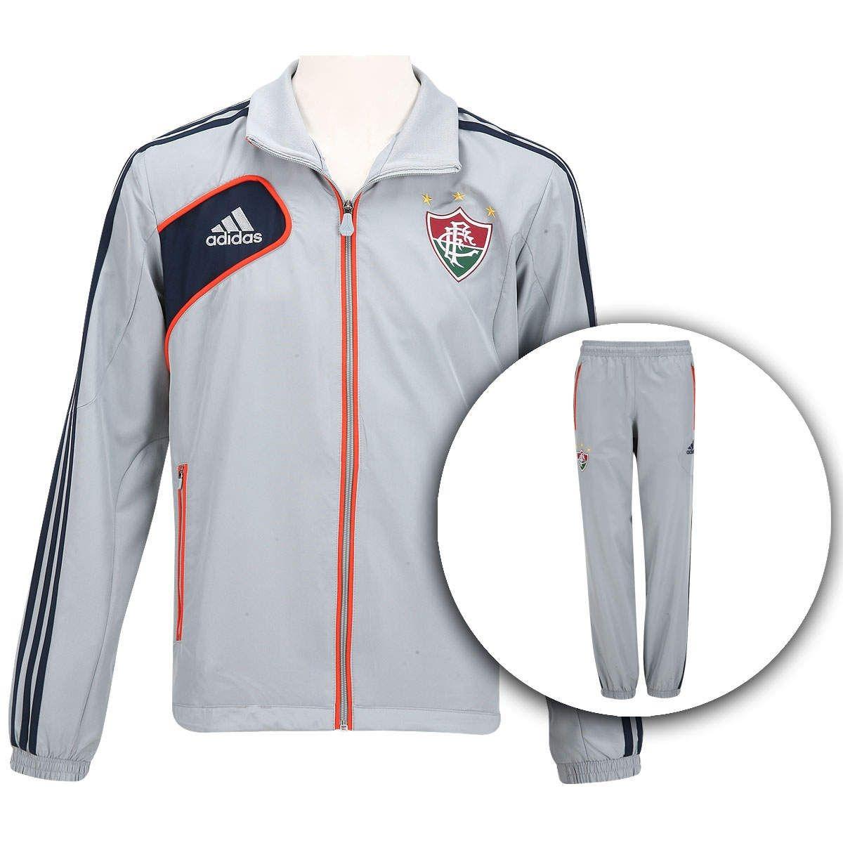 827869a82a Agasalho adidas Fluminense 2013 Original Novo De 399