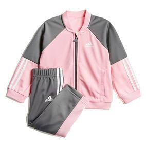 772218d8007 Agasalho adidas Infantil Shiny Rosa Menina Dv1248 Original