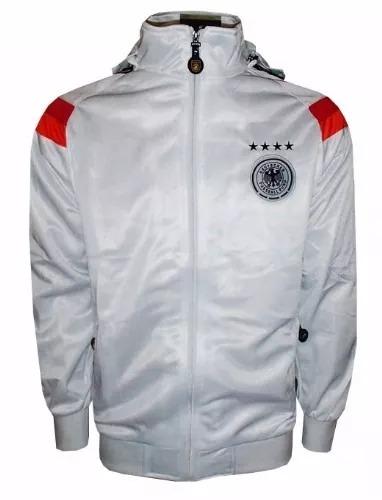 Agasalho Alemanha Completo Masculino adidas Branco - R  269 37f9eefcddaf2