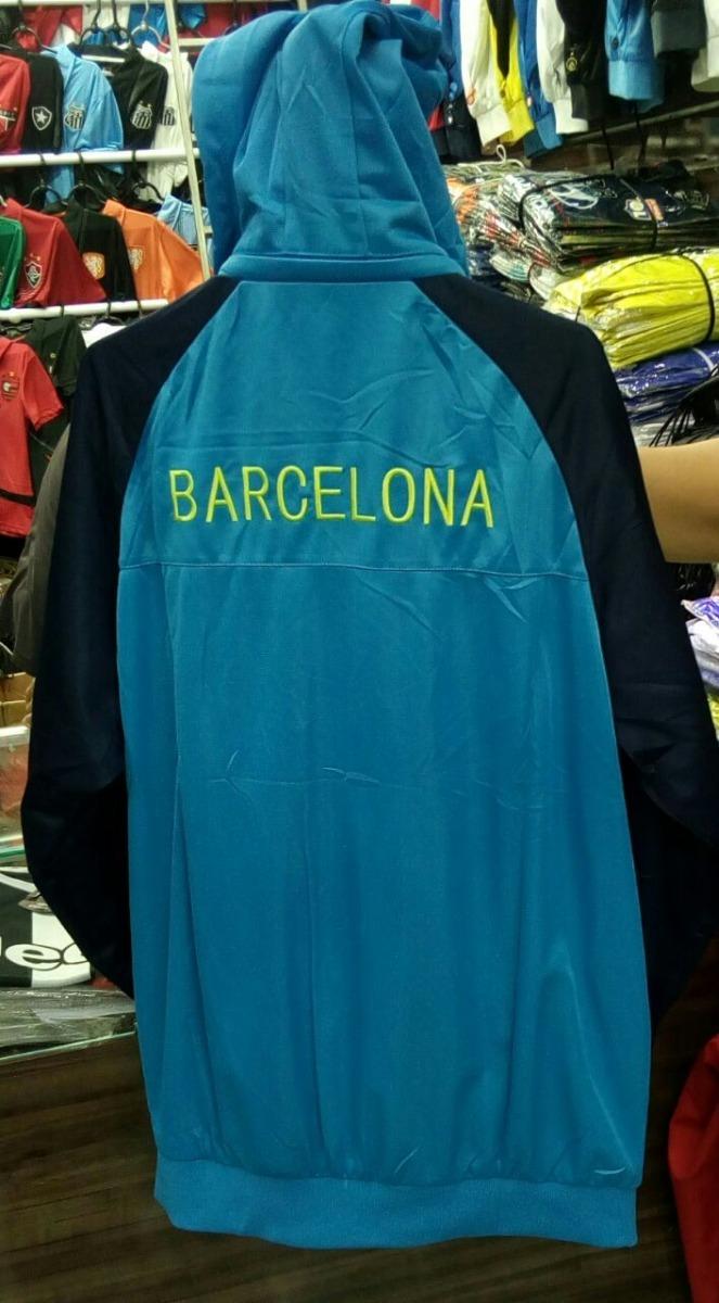 bf5046280d agasalho barcelona azul time calça e blusa frete gratis. Carregando zoom.