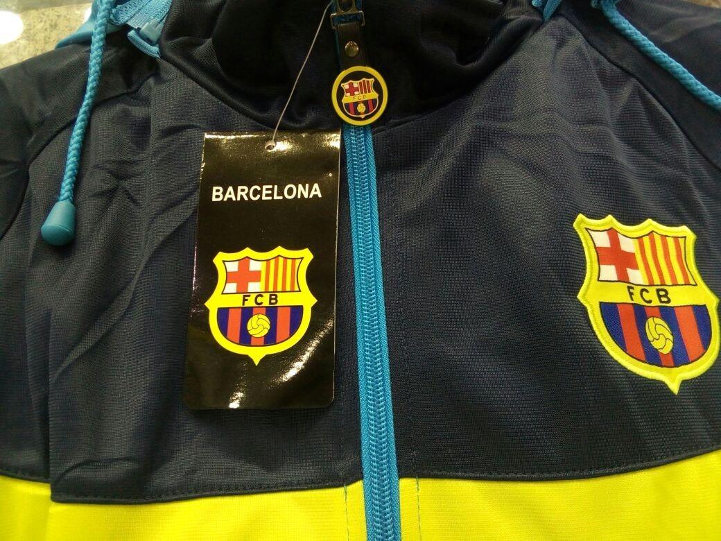 cdba062c00 agasalho barcelona azul time frete gratis blusa e calça. Carregando zoom.