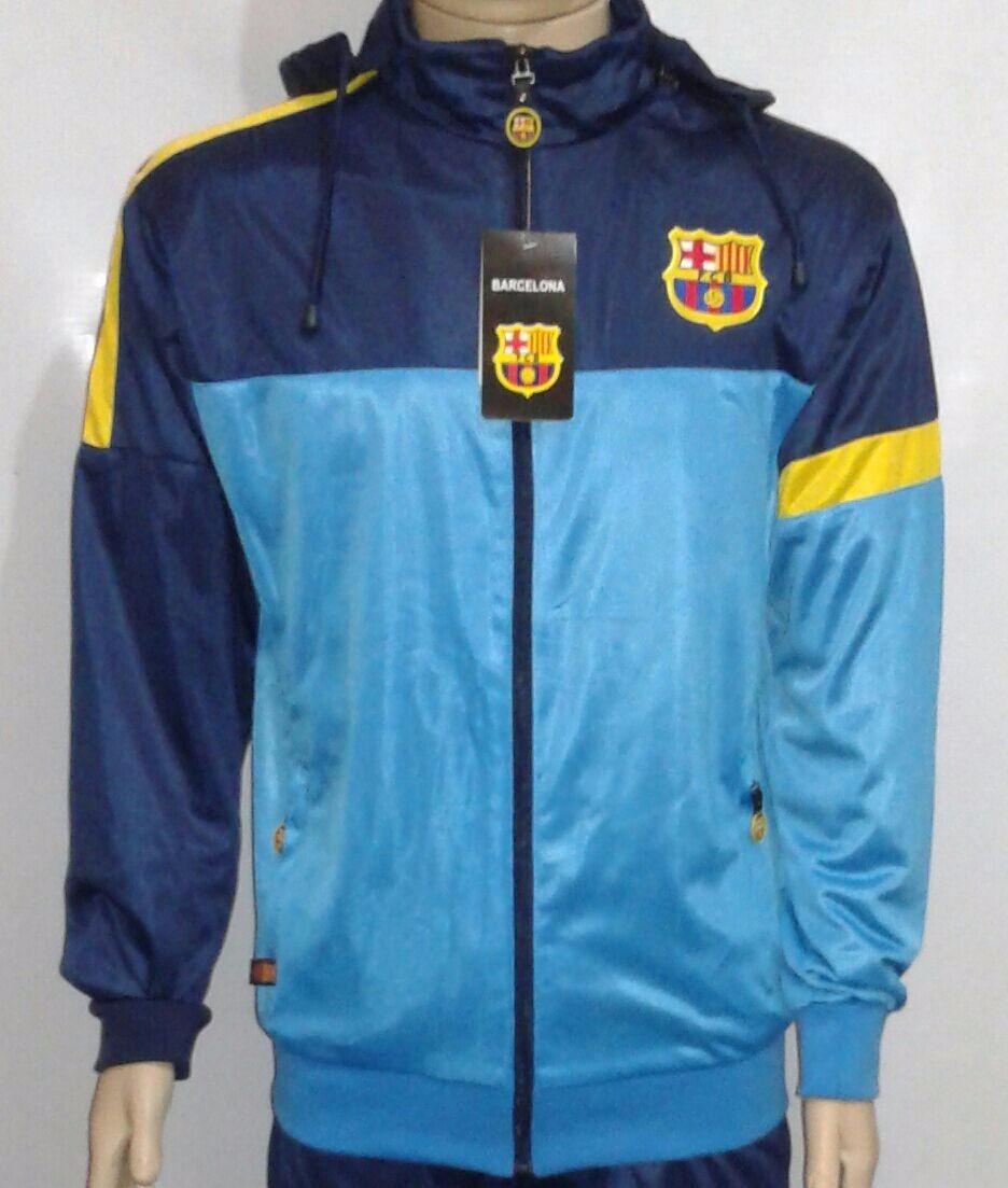 2b95433e2c agasalho barcelona completo calça   jaqueta. Carregando zoom.