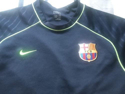 Agasalho Barcelona - Nike - Azul Marinho - Tam. M - R  120 38bbf8a150081