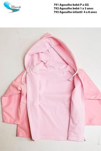 agasalho bebê - jaqueta e calça forrados