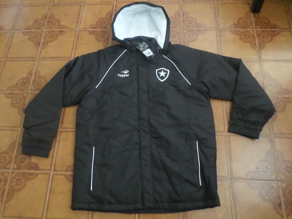 551596418a Agasalho Botafogo Jogador Parka Tamanho Gg - R  360
