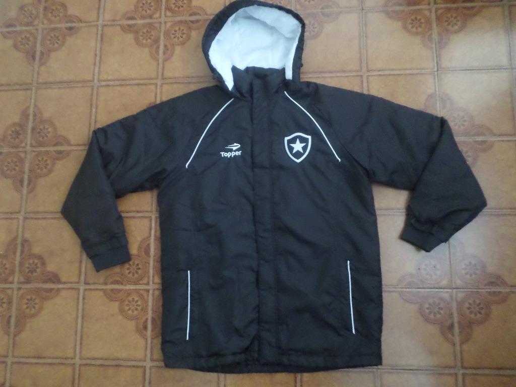f15b43836e Agasalho Botafogo Usado Jogador Parka Tamanho M - R  330