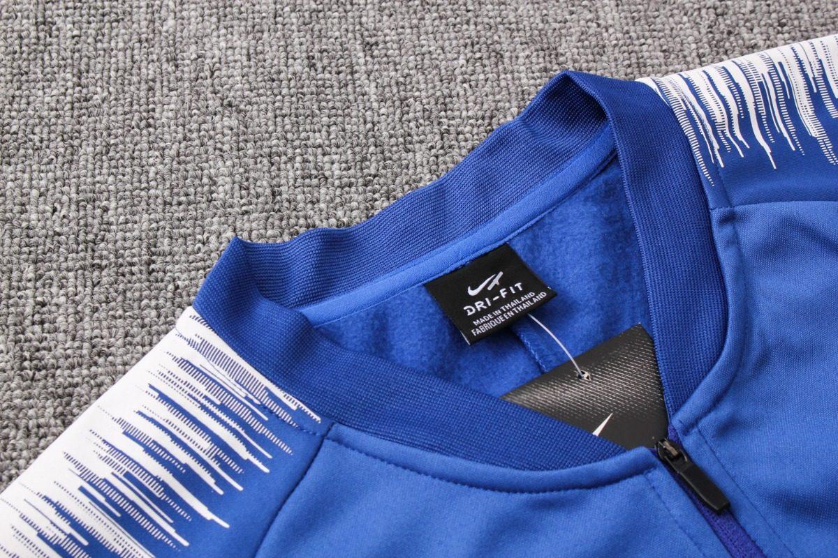 07340d1486 agasalho chelsea 2018 2019 azul 2 - casaco + calça. Carregando zoom.