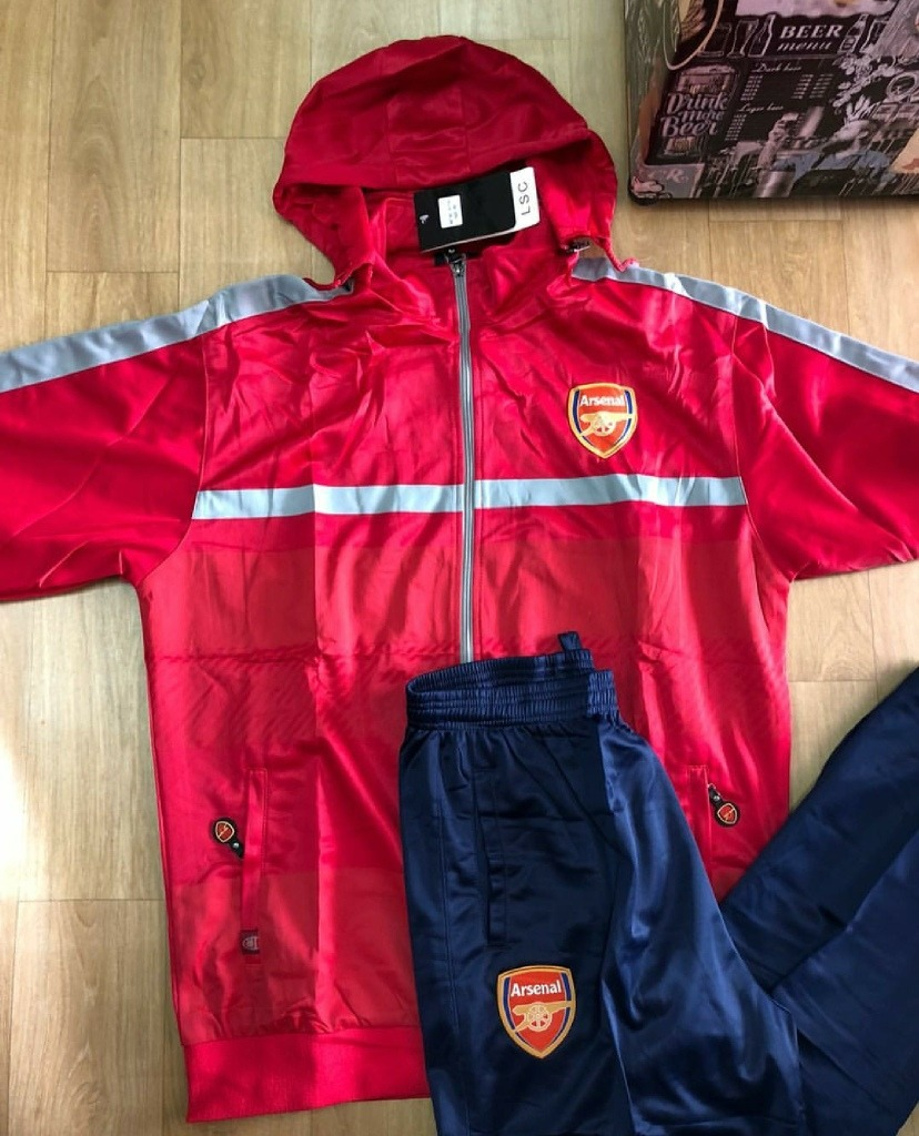 7a894bbcdc1 agasalho conjunto calça blusa frio time arsenal vermelho. Carregando  zoom. ... f5039db362a94