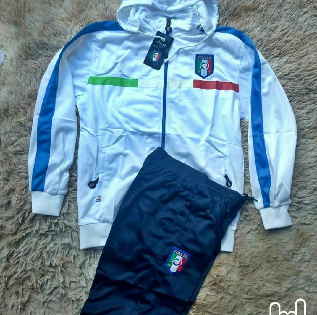 agasalho conjunto calça blusa frio time europeu itália. Carregando zoom. 0ea0ead34646c