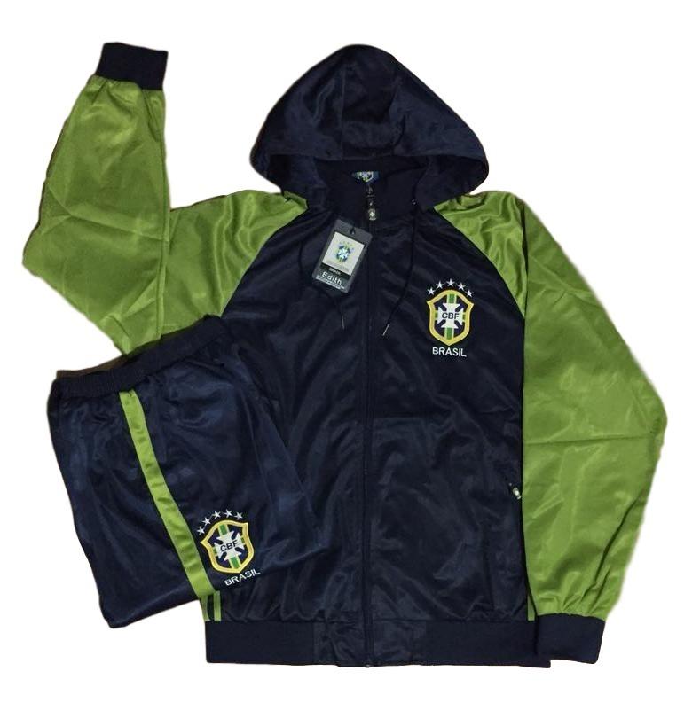 agasalho da seleção brasileira blusa jaqueta calça brasil. Carregando zoom. c9208f68e216c