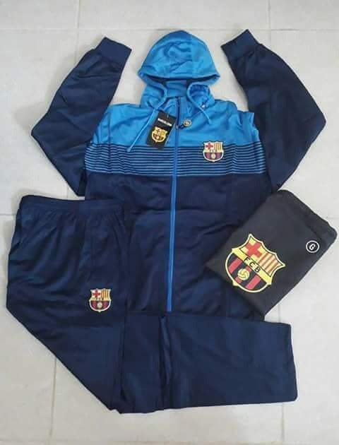 Agasalho De Time Barcelona Conjunto Blusa E Calça Promoção - R  199 ... 1f0bdfd3e60b1