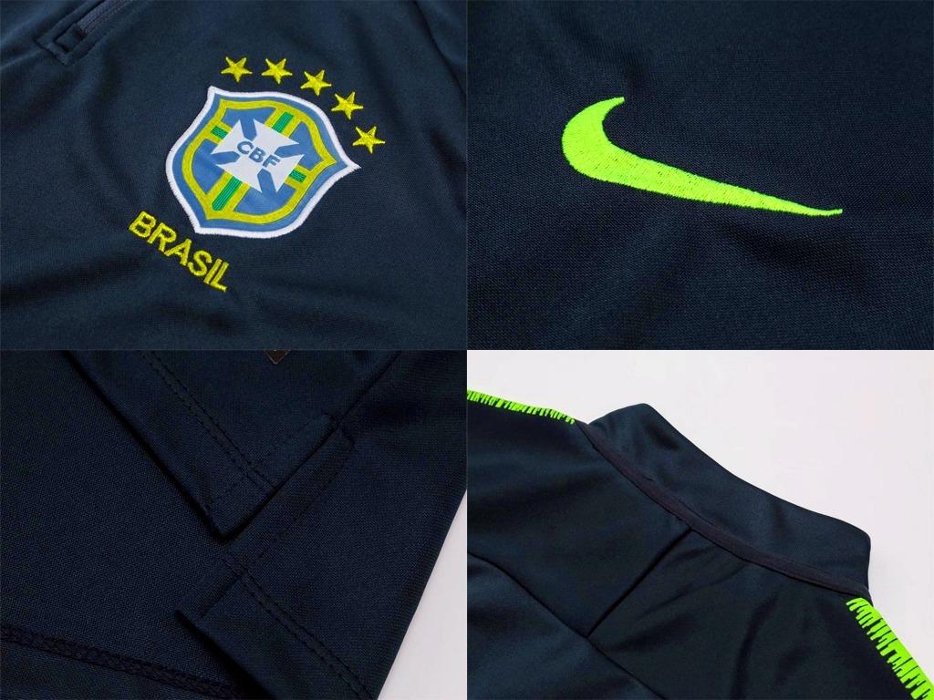 agasalho de treino seleção do brasil brasileiragem 2018. Carregando zoom. 2eff0fbc07364