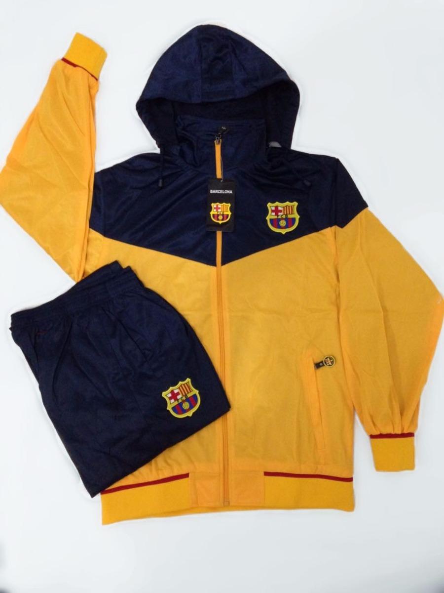 6a372f7fcd agasalho do barcelona amarelo azul conjunto blusa e calça. Carregando zoom.