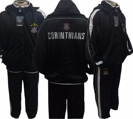 969b78c114 Agasalho Do Corinthians Completo De Viagem - R  179