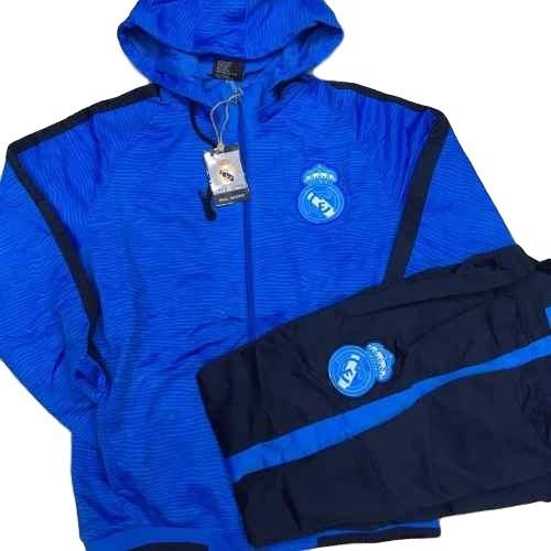 83b339e95 Agasalho Do Real Madrid Conjunto Blusa E Calça Cr7 Azul Time - R ...