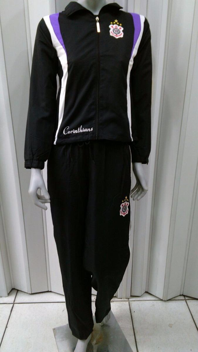agasalho feminino corinthians oficial jaqueta + calça. Carregando zoom. 58a7ec271e823