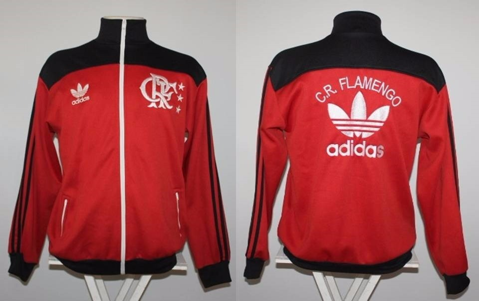 Agasalho Flamengo Retro Dos Anos 80 - R  179 6e2164ca1e7ed