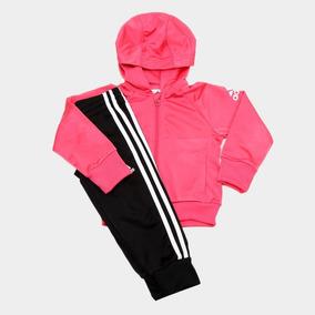 3bc5135be8 Agasalho Infantil adidas Tracksuit Capuz Feminino - 9 10 An