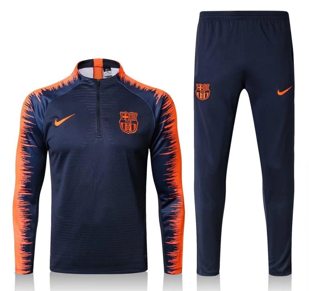 agasalho jaqueta conjunto treino barcelona 2018 2019 o. Carregando zoom. aeed1170d8102
