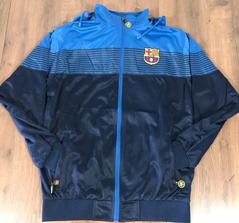agasalho masculino barcelona   casaco   blusão   jaqueta. Carregando zoom. a271291d2868b