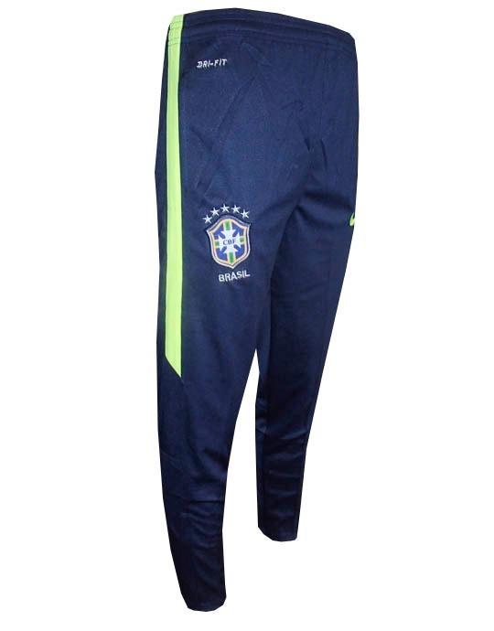 63bb6234ab Agasalho Nike Brasil Azul Marinho E Verde Original - R  283