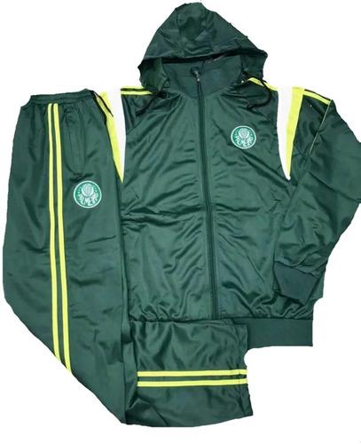 agasalho palmeiras completo jaqueta e calça frete gratuito