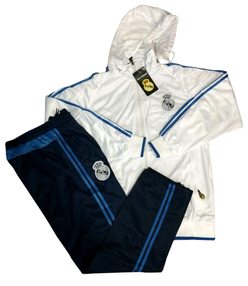 Agasalho Real Madrid Conjunto Blusa Masculino Pronta Entrega - R ... a4bc77977b80d