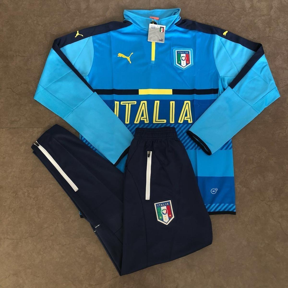 agasalho seleção itália azul bb e azul marinho 2018. Carregando zoom. b3188d603ca93