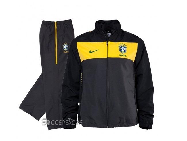 Agasalho Seleção Brasileira Nike (jaqueta) - R  400 ff34dc10a349e