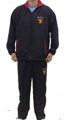 agasalho sport recife oficial conjunto jaqueta calça bordado