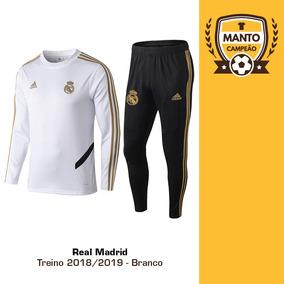 02ed63f223d Agasalho Real Madrid - Futebol no Mercado Livre Brasil