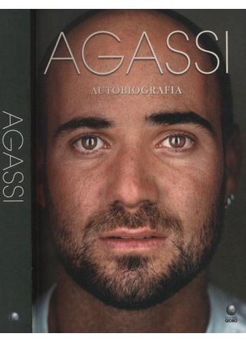 agassi - autobiografia - seminovo em ótimo estado