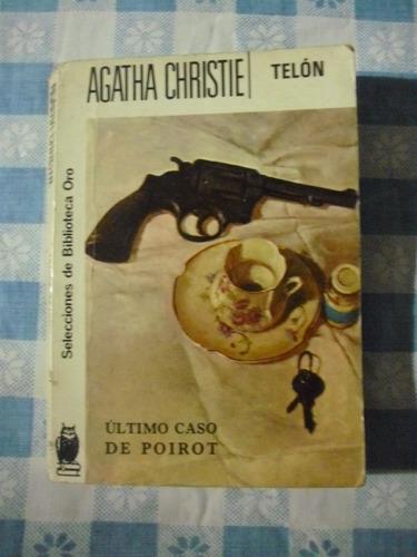 agatha christie 2 libros: telón y el caso de los anónimos.