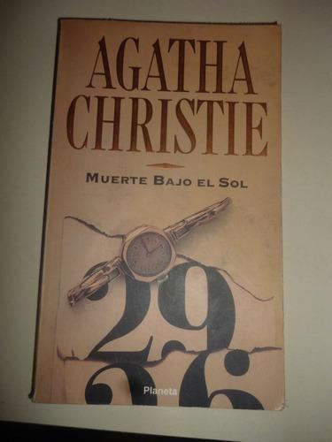 agatha christie - muerte bajo el sol - planeta