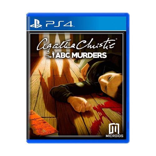 agatha christie the abc murders ps4 mídia física