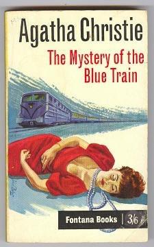 agatha christie the mystery of the blue train 1963 fontana
