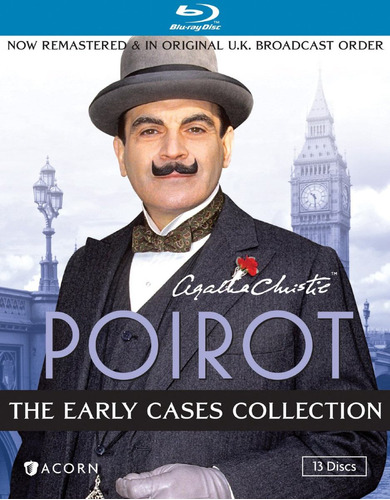 agatha christie's poirot: the early cases [blu-ray] (1989)